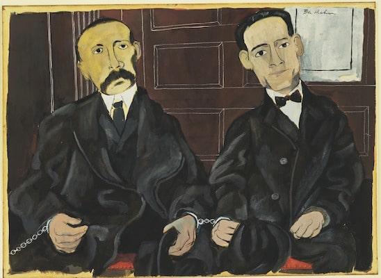 Bartolomeo Vanzetti and Nicola Sacco
